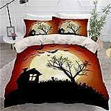 Patrón De Horror De Halloween Impresión Hotel De Apartamentos...
