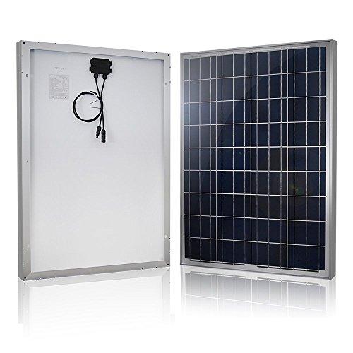 HQST 100 Watt 12 Volt Polycrystalline Solar...