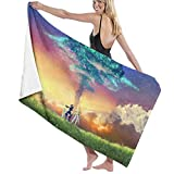 wusond Toalla de baño Xenoblade Toalla de Anime Toallas de baño de Playa Toallas de baño de Secado rápido Toallas para Viajes Camping Toallas de Piscina Sillas de Playa 51,5 x 32 Pulgadas