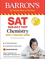 SAT Subject Test Chemistry: with 7 Practice Tests (Barron's SAT)