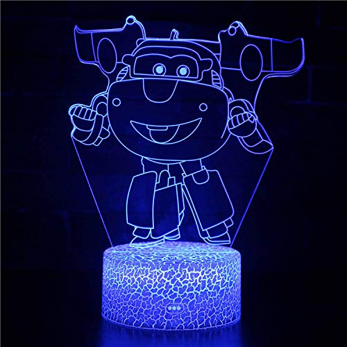 LED Luz De Noche, Decoración Del Dormitorio Para Niños,Control Remoto+16 Cambio De Color Lámpara De Noche De Ilusión Óptica 3D.Regalos De Cumpleaños,Navidad,Halloween Para Niños,Decoración Hogareña.