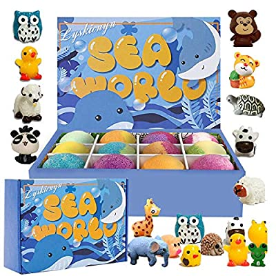 Amazon - 50% Off on Bath Bombs Gift Set, Fizzies, Shea & Coco Butter Dry Skin Moisturize, Perfect