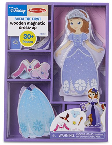 Sofia the First Wooden Magnetic Dress-Up Play Set by Melissa & Doug