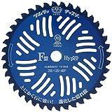 ツムラ 刈払機用チップソーF型ハイパー 外径(255mm・40P) 8481aj