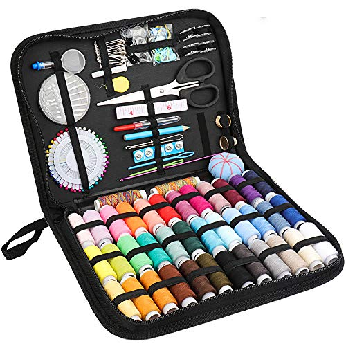 Deluxe Sewing Kit with 183 Premium Sewing Accessories -