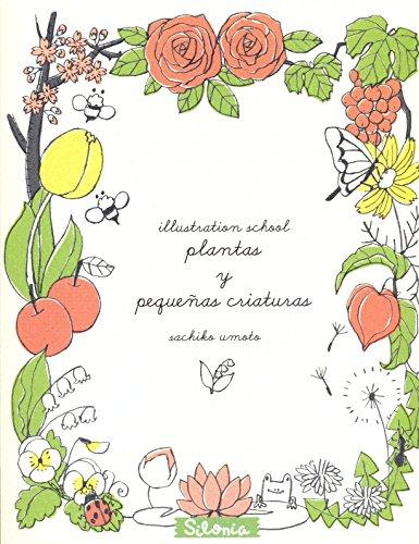 Illustration School: plantas y pequeñas criaturas