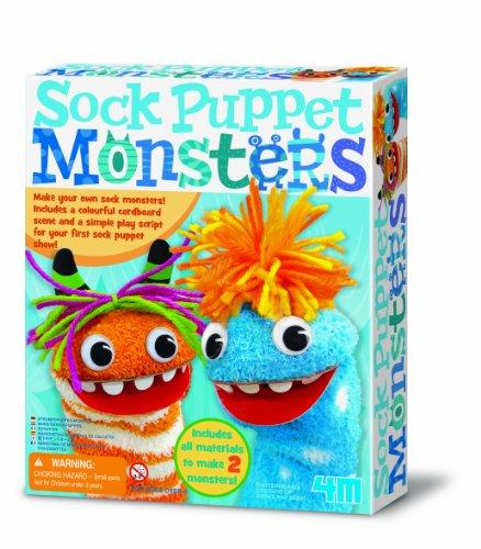 4m Socke Handpuppe Monster