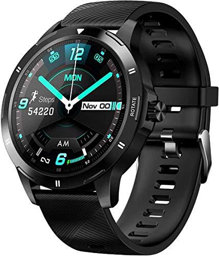 Reloj inteligente deportivo para hombres y mujeres, pulsera deportiva inteligente Bluetooth Fitness Tracker IP67 resistente al agua