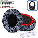 Upgraded Beats Replacement Ear Pads by Wicked Cushions - Compatible with Studio 2.0