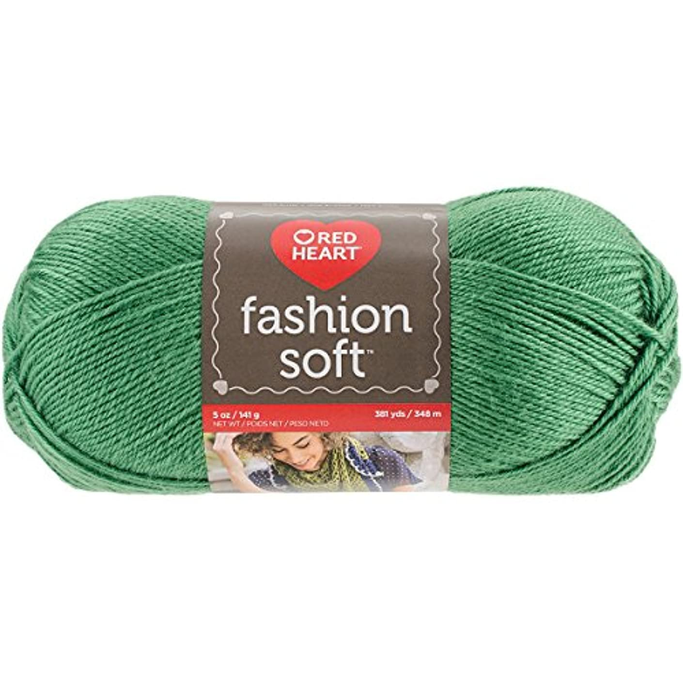 Coats Yarn E845.4652 Fashion Soft, Kelly Green