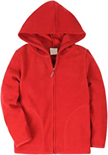 Baby Boys&Girls Polar Fleece Zipper Christmas Hoody Jacket Outerwear