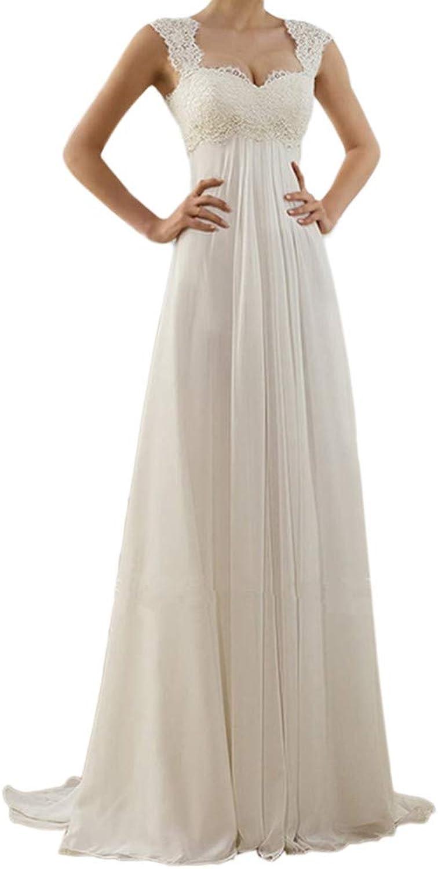 Yitamn Damen Hochzeit Midi Kleid