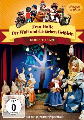 Augsburger Puppenkiste - Der Wolf und die sieben Geißlein & Frau Holle - Neu!!!