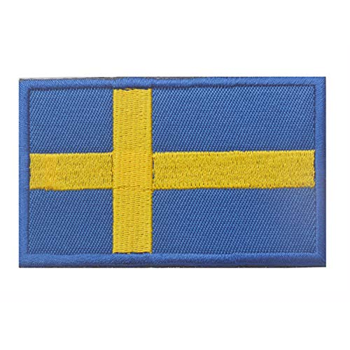 Sweden Flag Patch Embroidered Military Tactical Morale Patches (Sweden)