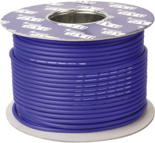 DAP DIG-110 AES-EBU 110 Ohm Digital Cable Blue DMX Kabel Rolle 100m