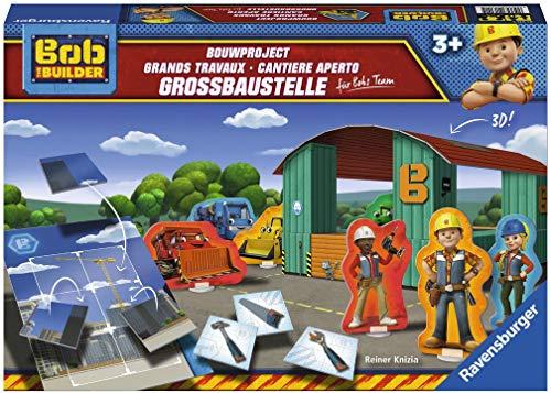 Ravensburger  21311  - Bob the Builder Großbaustelle für Bobs Team Kinderspiel