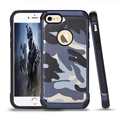 leobray for iPhone 6/6s case,Heavy Duty Protective Bumper Shockproof Armor...