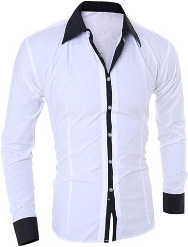 Camisa De Manga Larga para Hombre Blusa De Hombre Joven Ropa ...