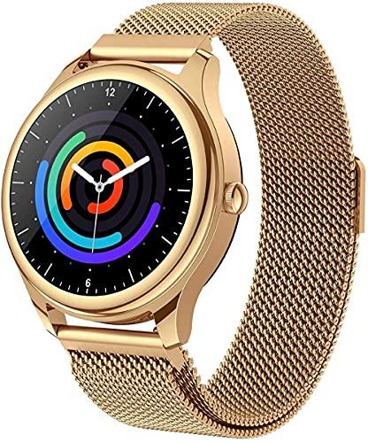 SHIJIAN Reloj impermeable de pantalla táctil inteligente, rastreador de fitness