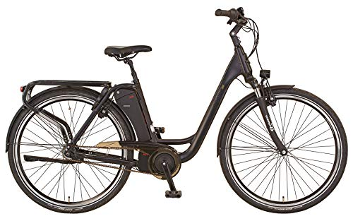 "Prophete Unisex– Erwachsene GENIESSER 20.ETC.10 City E-Bike 28\"" AEG ComfortDrive C, schwarz, RH 49"