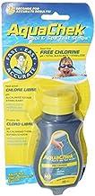 Aqua Chek Aqua Chek Yellow Test Strips Free Chlorine, 50 Strips, 1-Pack