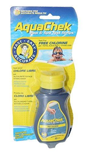 AquaChek 511244ASchwimmbecken- und Spa-Teststreifen, gelb