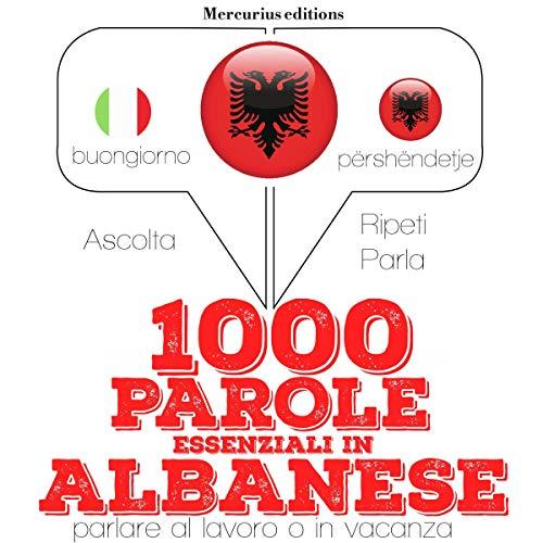 1000 parole essenziali in Albanese cover art