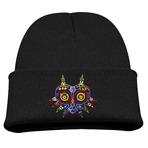 Beanie Hat The Legend of Zelda Majoras Mask Cool Winter Warm Children's
