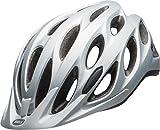 BELL Tracker Casco de Ciclismo, Unisex, Plata Mate, Talla única