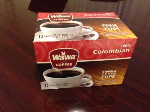 Wawa Coffee Single serve cups for Keurig K-Cup Brewers (Colombian)