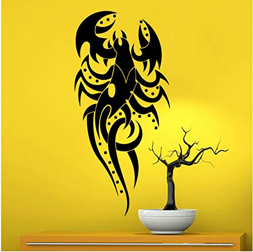 Wandtattoo  Pinzette Arachnid  Tribal Tattoo Applikation Home Art Deco Aufkleber  56x88cm