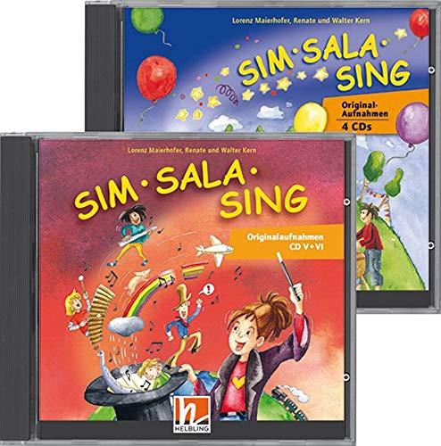 Sim Sala Sing - Alle Originalaufnahmen CDs: 6 Audio-CDs zum gleichnamigen Liederbuch mit über 180 ausgewählten Originalaufnahmen