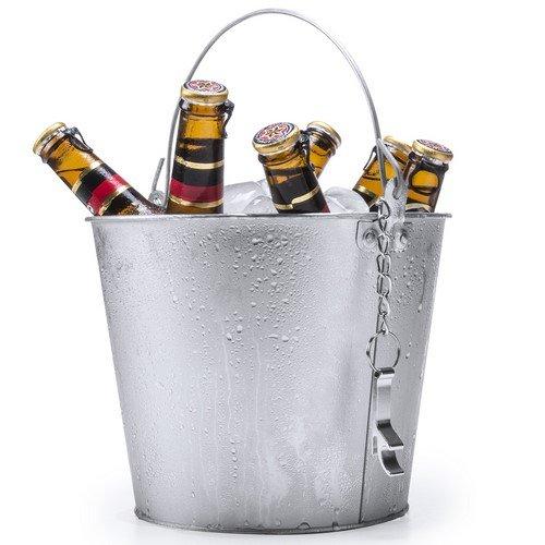 Set de 6 cervezas personalizadas con cubo enfriador y abrebotellas, cervezas con foto para regalar, eventos, bodas, cumpleaños, aniversario, día del padre, Uvimark