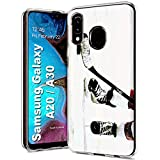 MOBIFLARE Slim Case for Samsung Galaxy A10E, Not for Galaxy A10, Hockey Game Design Light Weight, Unbreakable, Flexible, Surround Edge Protection