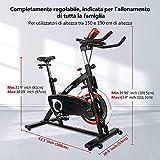 Zoom IMG-1 cyclette da casa professional con