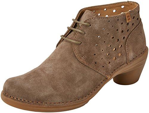 El Naturalista 5323, Zapatos de tacón con Punta Cerrada para Mujer, Verde (Land 000), 36 EU