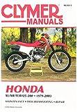 Clymer M3184 Repair Manual, Black