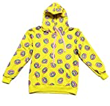 CHAIRAY GOT7 Mark Cap Hoodie Cute Donut Unisex Sweatershirt M Yellow