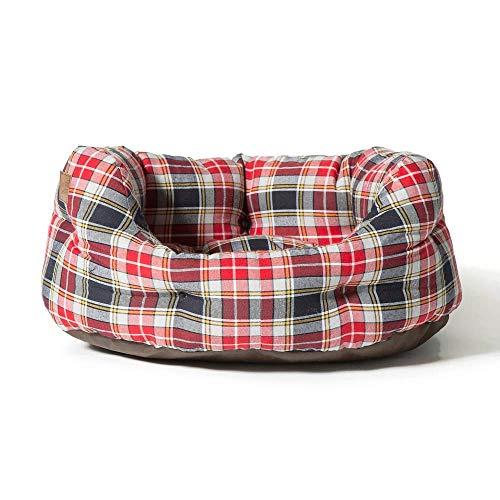 Danish Design Lumberjack Lit d'appoint Rouge/Gris 61 cm