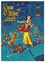 ポスター ジェームス フレームス Mondo Snow White 白雪姫 Cyclops Print 限定305枚 手書きナンバリング入り 額装品 アルミ製ハイグレードフレーム