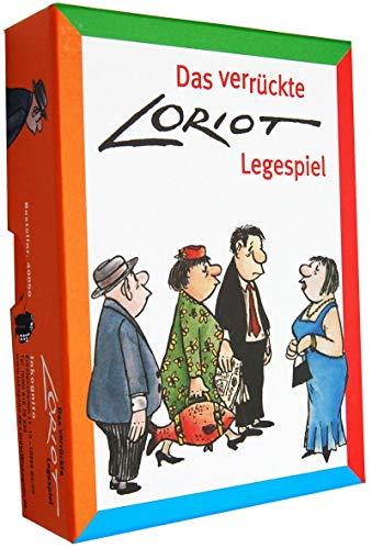 Loriot Legespiel / Gedächtnisspiel 13 x 9,5 x 3 cm • 40050 ''Das verrückte Loriot-Legespiel'' • Games • Spiele