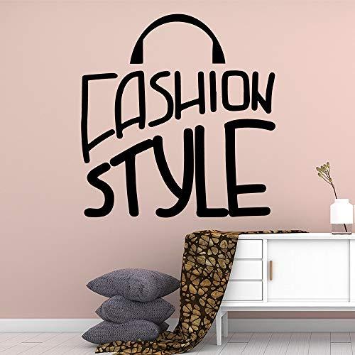 Tianpengyuanshuai Kreative Mode Stil wasserdichte Wandtattoo Wand kreative Aufkleber-36X37cm