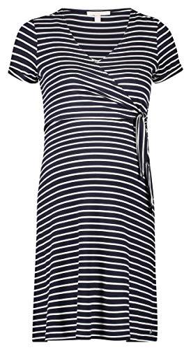 ESPRIT Maternity Damen Dress Nursing Ss Yd Kleid, Mehrfarbig (Night Blue 486), 42 (Herstellergröße: XL)