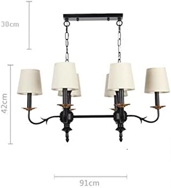 Uncle Sam@ American Chandeliers, Vintage Classical Wrought Iron Chandeliers, 6 Lights E14/220V Creative livingroom//Dining Ro