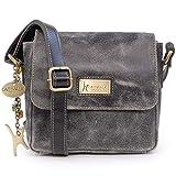 Catwalk Collection Handbags - Cuir Vintage Texture - Petit Sac...