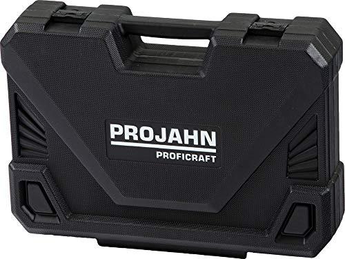 Projahn 8664 - Llaves de vaso maleta beneficiaron kit de artesanía 182 piezas 1/4 más 3/8 y 1/2 pulgadas