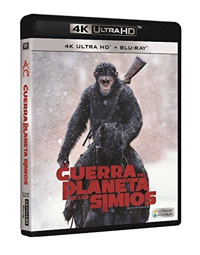 La Guerra Del Planeta De Los Simios 4k Uhd [Blu-ray]