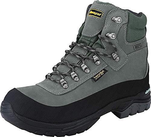 HANAGAL Men's Tangula Waterproof Hiking Boots Size 10.5 Grey