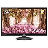シャープ ハイビジョン 液晶テレビ 外付けHDD対応 AQUOS 24V型 2T-C24AC2