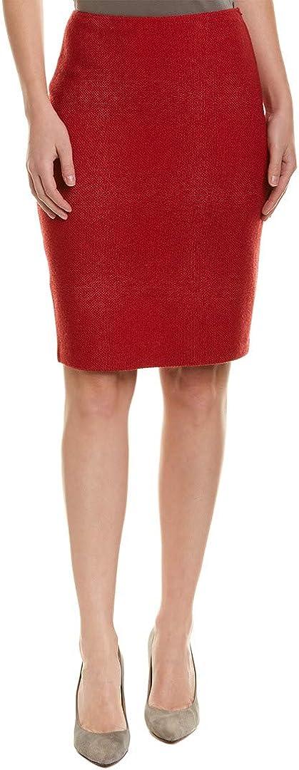 St. John Womens Gail Knit Pencil Skirt